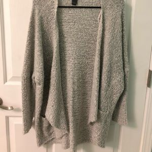 Francesca's Collection Grey Cardigan